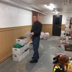 "HHM Volunteer (LeRoy) assisting TFFCF ""Toys for Angels"" drive"