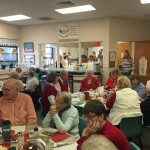 HHM Christmas Dinner at the Williamston Senior Center